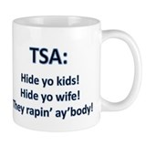 TSA: Touchin' Feelin' Arresti Mug
