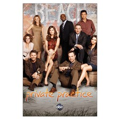 Private Practice Large Poster