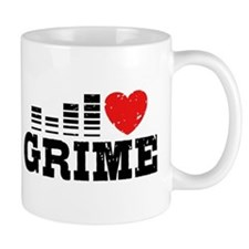 I Love Grime Small Mug