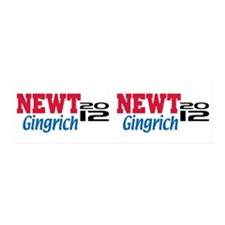 Newt Gingrich 2012 21x7 Wall Peel