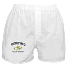 Newlywed (Add Date of Wedding) Boxer Shorts