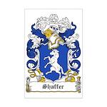 Shaffer Coat of Arms Mini Poster Print