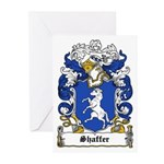 Shaffer Coat of Arms Greeting Cards (Pk of 10)