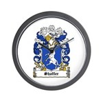 Shaffer Coat of Arms Wall Clock
