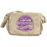 Breckenridge Old Violet Messenger Bag