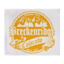 Breckenridge Old Gold Throw Blanket