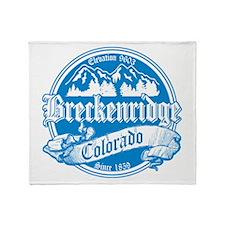 Breckenridge Old Orange Throw Blanket