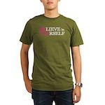 BElieve in YOUrself Organic Men's T-Shirt (dark)
