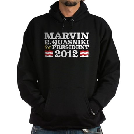 Marvin for President Hoodie (dark)