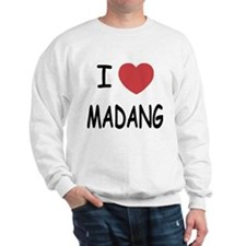 I heart madang Sweatshirt