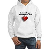 Derek Morgan makes my heart throb Hoodie