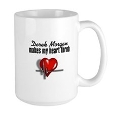 Derek Morgan makes my heart throb Mug