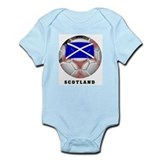 Scotland soccer Infant Creeper