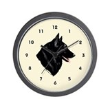 Belgian Shepherd Wall Clock (cream)