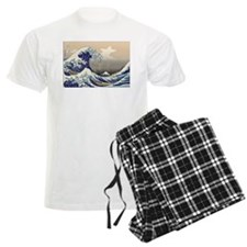 Hokusai The Great Wave Pajamas