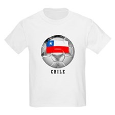 Chile soccer Kids T-Shirt