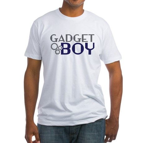 Gadget Boy Fitted T-Shirt