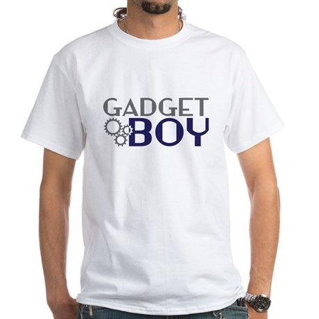 Gadget Boy White T-Shirt