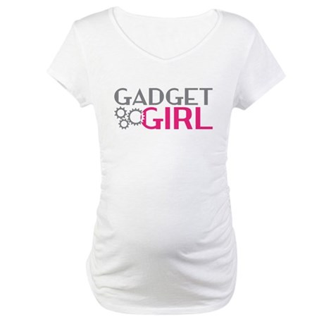 Gadget Girl Maternity T-Shirt