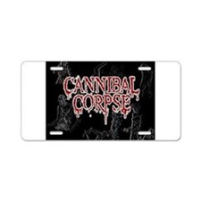 Cannibal Corpse Aluminum License Plate