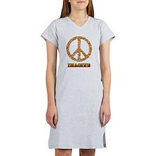 Imagine Peace Women's Nightshirt