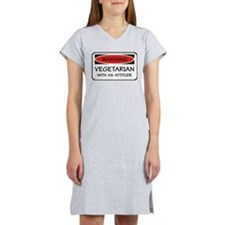 Attitude Vegetarian Women's Nightshirt