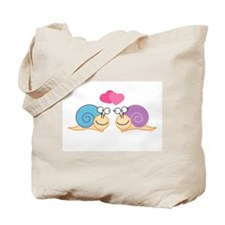 Love Snails Tote Bag