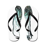 JellyFish MedusArt Flip Flops