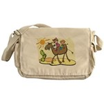 Cute Camel Messenger Bag