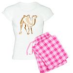 Stylized Camel Women's Light Pajamas