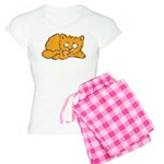 Cute Kitten Women's Light Pajamas