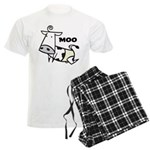 Moo Cow Men's Light Pajamas