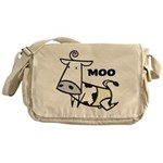 Moo Cow Messenger Bag