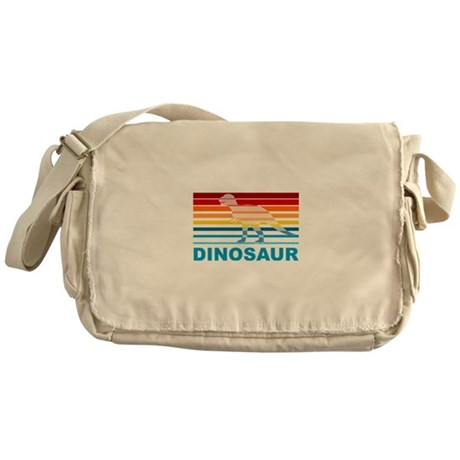 Colorful Dinosaur Messenger Bag