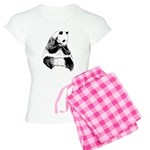 Hand Sketched Panda Women's Light Pajamas
