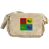 Pop Art Liger Messenger Bag