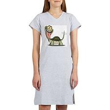 Funny Turtle Women's Nightshirt