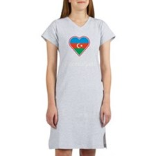 Happily Married Azerbaijani Women's Nightshirt