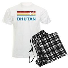 Palm Tree Bhutan Men's Light Pajamas