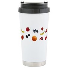 EAT FRUIT > ceramic travel mug