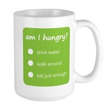 HUNGER CHECK > large mug