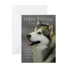 From the Malamute Birthday Card