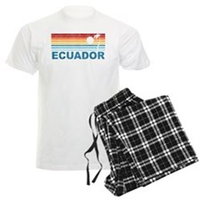 Retro Ecuador Palm Tree Pajamas