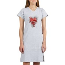 Heart Estonia Women's Nightshirt