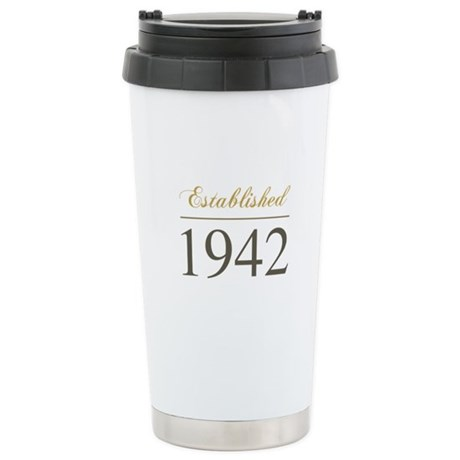 Established 1942 Ceramic Travel Mug