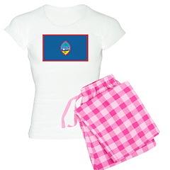 Guam Flag Women's Light Pajamas