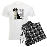 Border Collie Dad pajamas