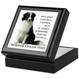 Border Collie Dad Keepsake Box