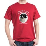 Border Collie v Wife T-Shirt