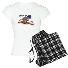Cool Otter illustration Pajamas